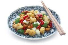 Acajoubaumhuhn, chinesische Nahrung Lizenzfreie Stockfotos
