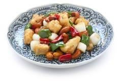 Acajoubaumhuhn, chinesische Nahrung Stockbilder