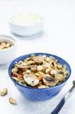 Acajoubaumkohl mit Pilzen Stockfotos