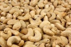 Acajounüsse als Lebensmittelhintergrund Stockfoto