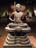 Acala (Fudō Myōō) Sculpture in Metropolitan Museum of Art. Stock Photos