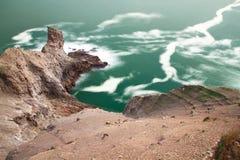 Acalme o oceano foto de stock