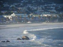 Acampa la bahía de Cape Town Fotografía de archivo