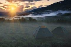 Acampamento Foto de Stock