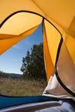 Acampamento da barraca Fotografia de Stock Royalty Free