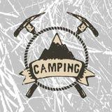 Acampamento da montanha Imagens de Stock Royalty Free