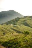 Acampamento da montanha de Lantau Fotografia de Stock Royalty Free