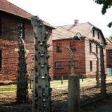 Acampamento de Auschwitz Fotografia de Stock