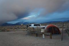 Acampamento de Colorado Imagens de Stock
