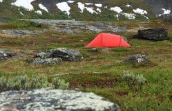 Acampamento de Lapland imagens de stock royalty free