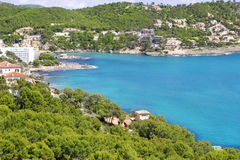 Acampamento de março de Andratx em Mallorca Balearic Island Imagem de Stock