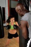 Acampamento de treinamento de MMA fotografia de stock royalty free
