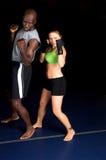 Acampamento de treinamento de MMA imagem de stock royalty free