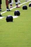 Acampamento de treinamento do futebol Foto de Stock
