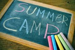 Acampamento de verão Imagem de Stock Royalty Free