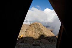 Acampamento do karango de Kilimanjaro 024 Foto de Stock