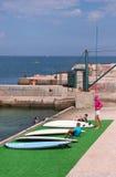 Acampamento e yacht club dos esportes o sul Imagem de Stock Royalty Free
