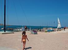 Acampamento e yacht club dos esportes sul Fotografia de Stock