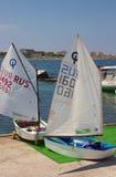 Acampamento e yacht club dos esportes sul Imagem de Stock