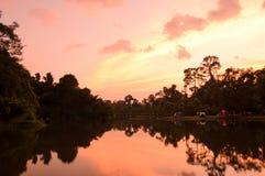 Acampamento em Khao Khitchakut Fotografia de Stock