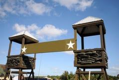 Acampamento militar imagem de stock royalty free