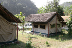 Acampamento - Nepal Imagens de Stock Royalty Free