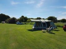 Acampamento no Reino Unido Fotografia de Stock