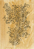 Acanthus golden decor Royalty Free Stock Images