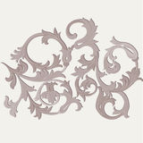 Acanthus leaf ornament element Royalty Free Stock Photography