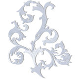 Acanthus leaf ornament element Royalty Free Stock Photos