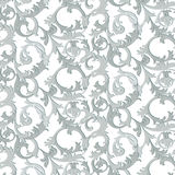 Acanthus leaf ornament pattern Royalty Free Stock Image