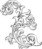 Acanthuse-Blume Lizenzfreie Stockfotos