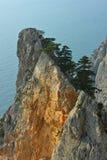 Acantilado de Crimea Fotos de archivo libres de regalías