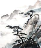 Acantilado de la montaña Imagen de archivo libre de regalías