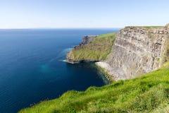 Acantilado de la opinión de Moher - Irlanda Foto de archivo