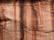 Acantilado de la piedra arenisca roja Imágenes de archivo libres de regalías