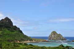Acantilado de la roca Imagen de archivo