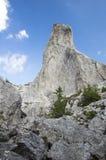 Acantilado de las piedras de la señora Foto de archivo