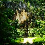 acantilado de los kebumen Imagenes de archivo