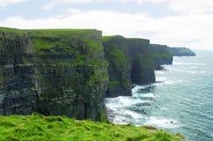 Acantilado de Moher, Irlanda Imagen de archivo libre de regalías