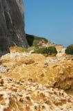 Acantilado de Normandía Imagen de archivo