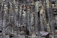 Acantilado de Sheepeater en Yellowstone Fotografía de archivo libre de regalías