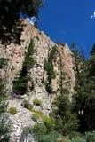 Acantilado del barranco de New México imagen de archivo