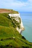 Acantilado del blanco de Dover Fotografía de archivo libre de regalías