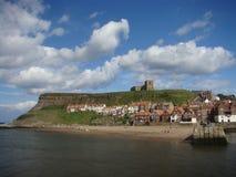 Acantilado del este, Whitby, Yorkshire Fotografía de archivo libre de regalías