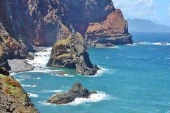 Acantilado del mar Imagenes de archivo