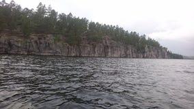 Acantilado impresionante en Suecia Fotografía de archivo libre de regalías