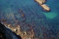Acantilado mágico Foto de archivo