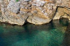 Acantilado por el mar Imagenes de archivo