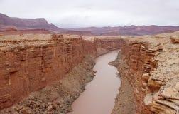 Acantilados Barranco-Bermellones desierto, Utah, los E.E.U.U. de Paria Fotografía de archivo libre de regalías